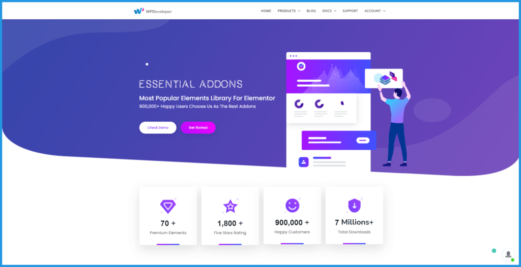 Essential Addons The best Elementor addons and widgets plugins